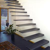 freitragende treppe metalltreppen design treppen. Black Bedroom Furniture Sets. Home Design Ideas