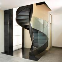 Scale a chiocciola  scale in ferro, scale a giorno, scale design