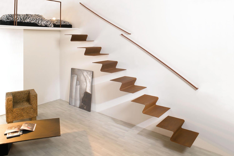 Design Treppen freitragende treppe metalltreppen design treppen